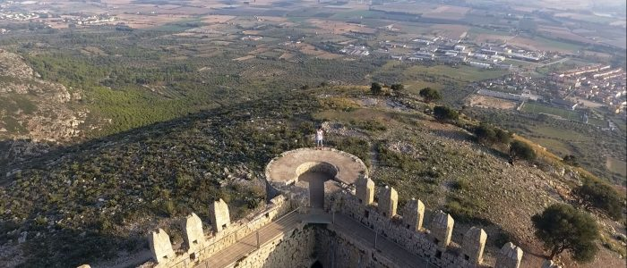 drone castell montgri